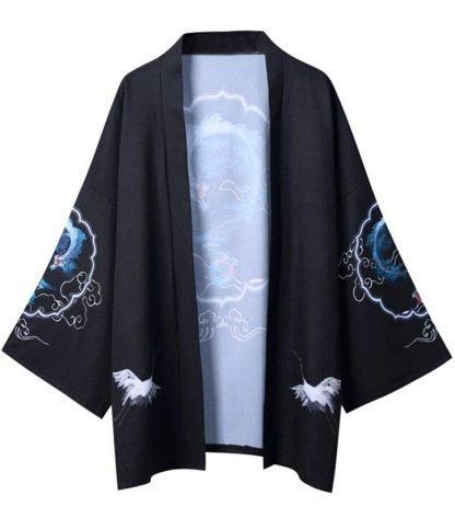 Dragon Kimono Blue