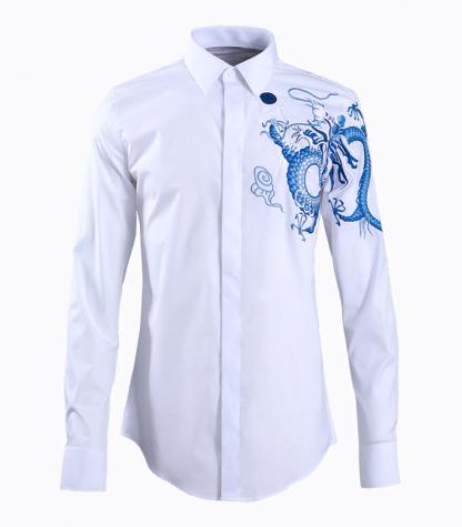 Blue shirt Dragon