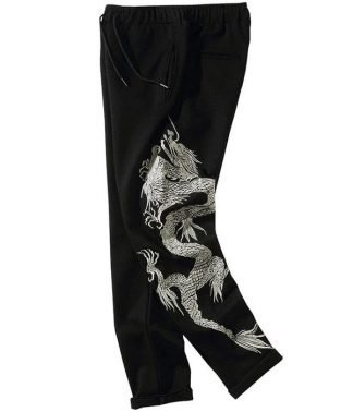 chinese dragon pants