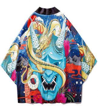 Devil Yokai Dragon Kimono