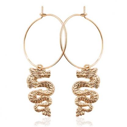 Dragon Earrings Free Shipping