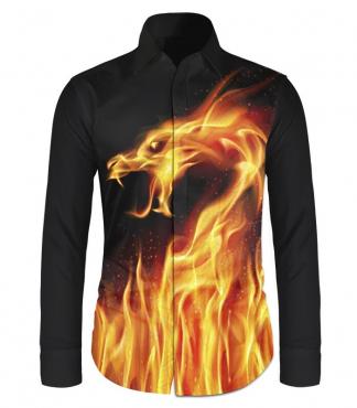 Dragon Flame Shirt