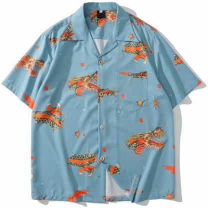 shirt Dragon Hawaiian