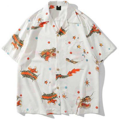 Dragon shirt Hawaiian