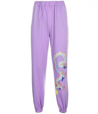 Purple Dragon Pants