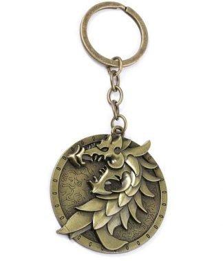 Elder Scroll Dragon Keychain