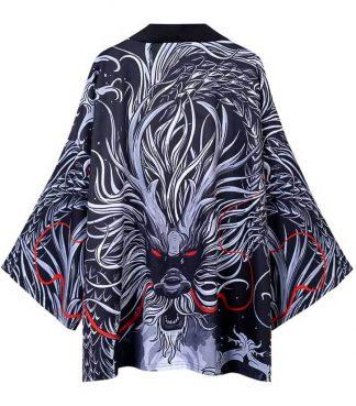 Japanese Dragon Kimono Robe