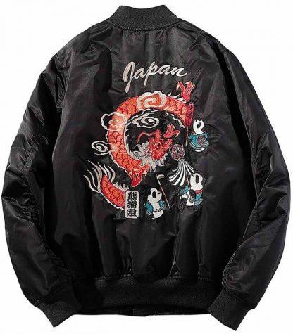 panda jacket for guys