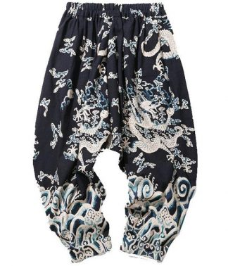 Plus Size Dragon Pants