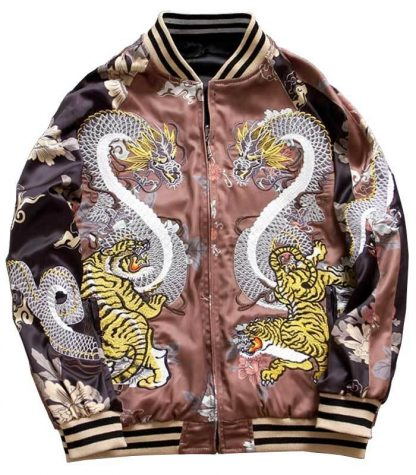 Tiger Bomber Womens Jacket