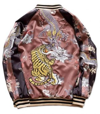 Tiger Bomber Jacket Womens