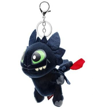 Toothless Dragon Keychain