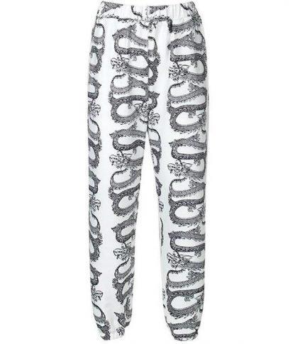 White Dragon Pants