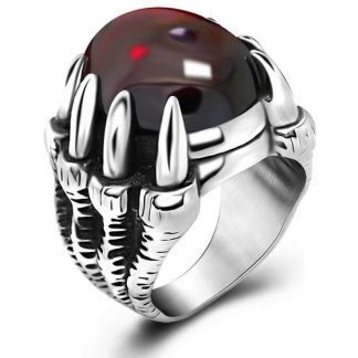 Biker Dragon Ring