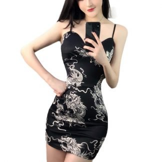Bodycon Dragon Dress