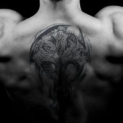 Celt Temporary tattoo Dragon