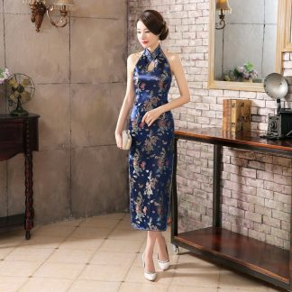 Chinese Halter Dress