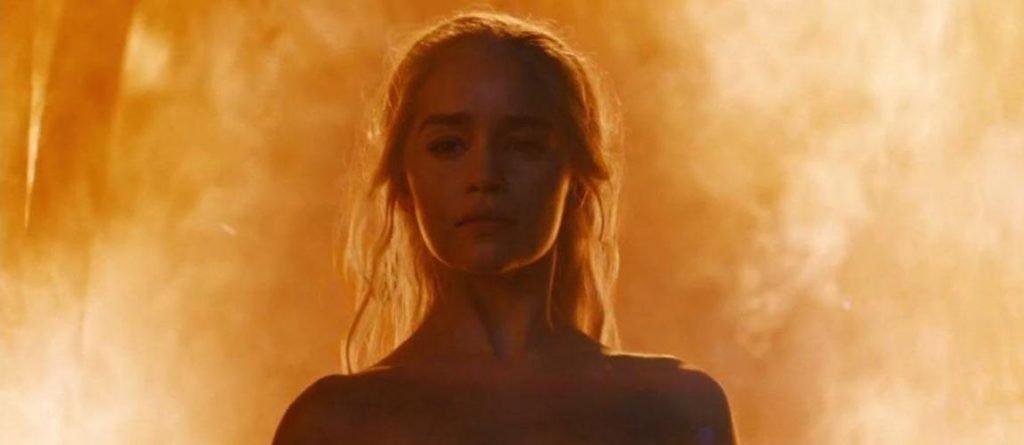 khaleesi immune to fire