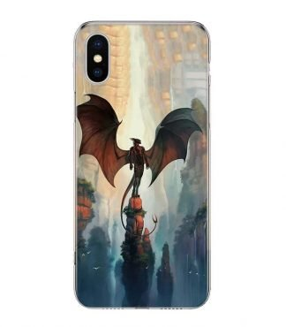 Demon Dragon iPhone Case