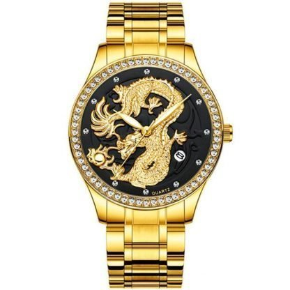 Diamond dragon Watch