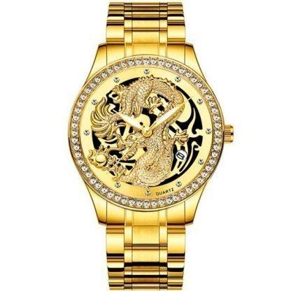 Diamond Watch Dragon