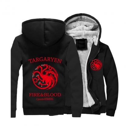 Targaryen black Hoodie