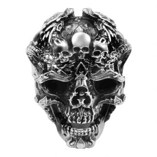 Dragon Skull Ring