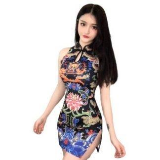 Dragon Vintage Dress