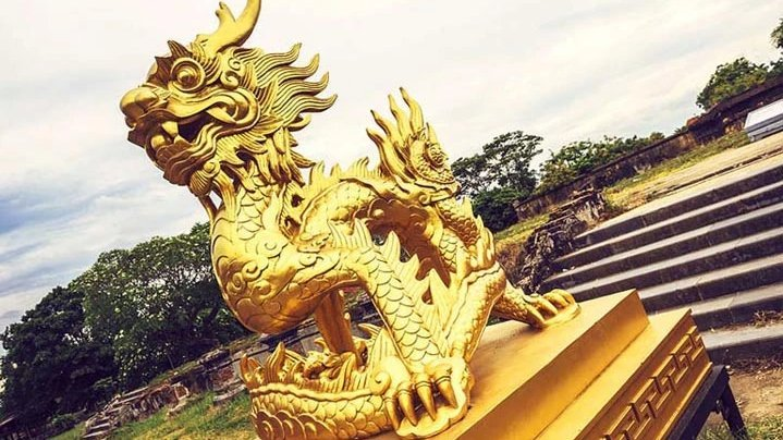 Dragons and Vietnamese Royalty