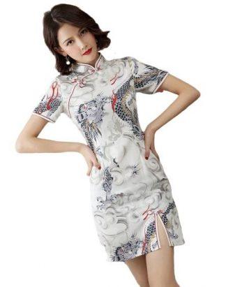 Elegant Dragon Dress