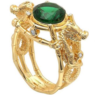Fantasy Ring Green Stone