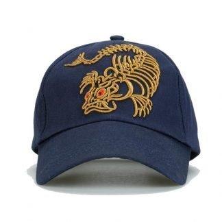Gold Dragon Cap