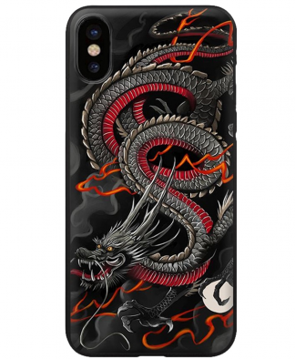 Japanese Culture Dragon iPhone Case
