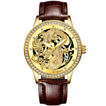 Japanese gold Watch Design