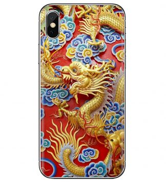 Majestic Dragon iPhone Case