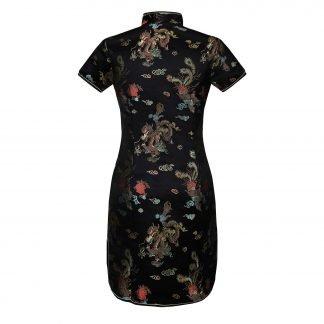 Mandarin Collar Dress