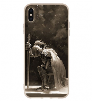 Medieval knight iPhone Case