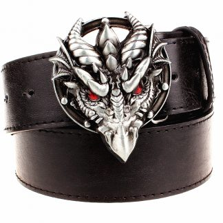 Norse Dragon Belt Buckle