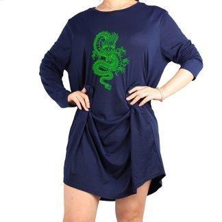 Plus Size Dragon Dress