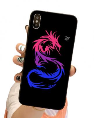 Rainbow Dragon iPhone Case