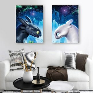 Toothless Dragon Canvas