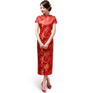 Traditional Chinese Long Dress