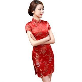 Traditional Chinese Short Dress