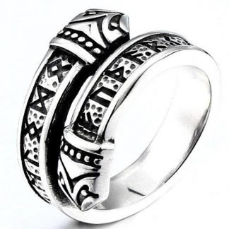 Viking Dragon Style Ring