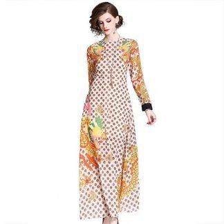 Dragon Print Dress