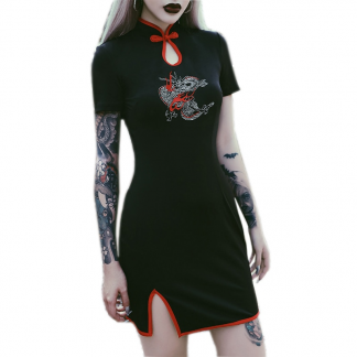 Black Dragon Dress
