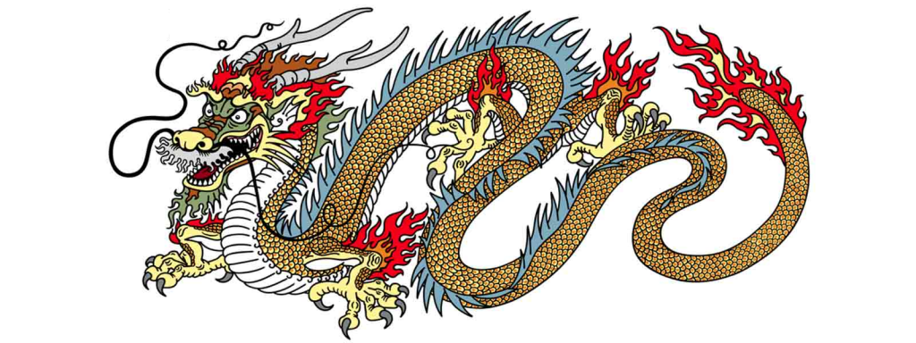 yang chinese dragon