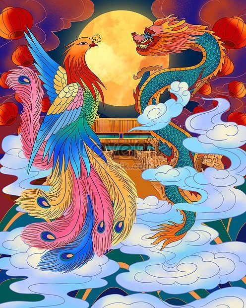 dragon and phoenix meaning