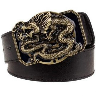 dragon belt buckle
