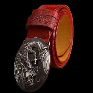 dragon belt leather
